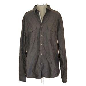 Jonathan Adams Men's XL Grey Long Sleeve Shirt AD21