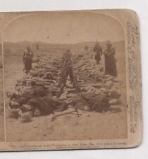 """ANGLO-BOER WAR, COLESBERG, SOUTH AFRICA ""  1900  ORIGINAL   STEREOVIEW"