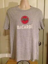 VINTAGE BACARDI BAT GRAY T SHIRT XL