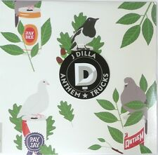 ANTHEM / TRUCKS by J Dilla Vinyl Record 6 Song Track List 2013 >NEW<