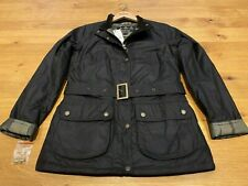 Barbour Ladies Montgomery Wax Rustic UK 10 New/Tagged  RRP £239 - New style AW20
