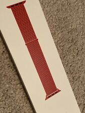 Apple Watch Band 44mm fits 42mm Product Red Sport Loop Genuine in Box MU972AM/A