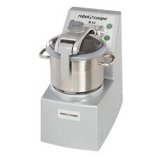 Robot Coupe R10 Food Processor Vertical CutterMixer w/ 10qt Stainless Steel Bowl