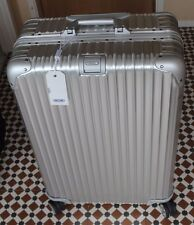 Rimowa Topas 70 Multiwheel Aluminium Suitcase unused with tag and papers
