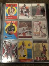 NBA Basketball Cards Dwyane Wade Rare Inserts