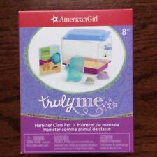 """American Girl Truly Me Class Pet HAMSTER Set for 18"""" Dolls McKenna Grace Saige"""