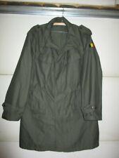 Belgian Military Jacket Coat 1987 OD Green Size Medium 54/56