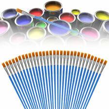 32pcs Acrylic Artist Paint Brushes Set Oil Watercolour Painting Craft Art Model