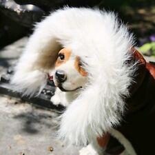 Piel de Cordero Chaleco Perro 01 Abrigo para Chaqueta Merino Auténtica
