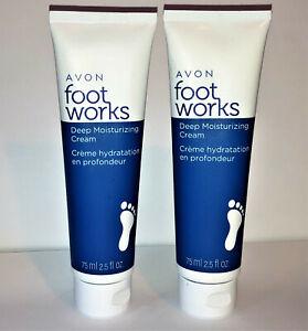 Avon Foot Works Deep Moisturizing Cream Set Of 2