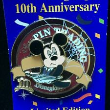 DLR - Disney Pin Trading Night - Mickey Mouse at The Haunted Mansion Attraction
