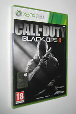 CALL OF DUTY BLACK OPS II 2 - XBOX 360 - italiano PAL --- SIGILLATO