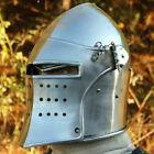 Medieval Barbuta Helmet Knights Templar Crusader Armor Helmet Halloween Gift