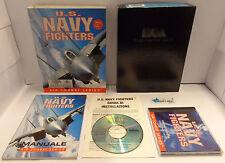 Game Computer Big Box PC CD-ROM Istruzioni in ITALIANO - U.S. NAVY FIGHTERS -