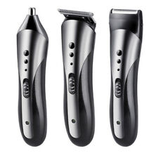 KM-1407 Men Waterproof Electric Beard Nose Ear Hair Shaver Trimmer Clipper KEMEI