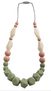 baby teething necklace beads silicone For Mom To Wear