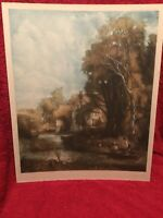 1915 Lithograph By C Fitzgerald. Virtue And Co City Road London