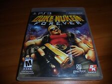 Duke Nukem Forever (Sony PlayStation 3, 2011) Used Complete PS3