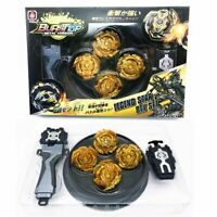 New 4pcs/set Beyblade Arena Spinning Top Metal Fight Bey Metal With Box Gift
