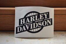 2 adesivi prespaziati replica logo Harley Davidson ruota vari colori