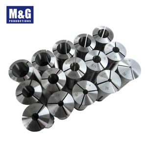 33 pcs Metric 5C Collets 3-28MM by1mm and