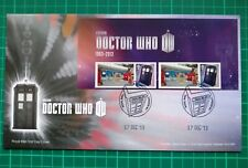 Post & Go Pop Up 17 Dec 2013 Doctor Who Custom Smiler FDC