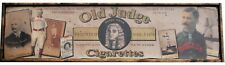 Antique Style 1888 Old Judge Tobacco Baseball Wood Printed Sign AWESOME!!