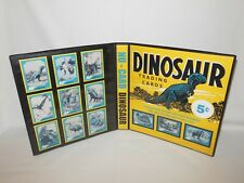 Custom Made Nu-Cards Dinosaur Trading Card Album Binder Graphics Only