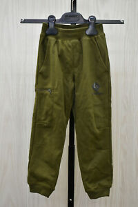 Columbia Branded French Terry Joggers, Little Kid's Size XXS, Green