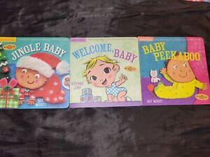NEW: Indestructible Baby Books. Welcome, Baby, Jingle Baby,  Baby Peekaboo