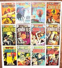 WEIRD WESTERN TALES 1972 #14 TO 70 28 DIFF. EARLY HEX APPS.+ 1ST APP SCALPHUNTER