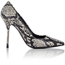 KOI Couture Snakeskin Effect Pointed Court Shoes UK 4 EU 37 LG08 30