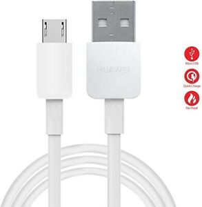 Charging Cable For Huawei Y9 Y6 Y7 Pro 2018 2019 Micro USB Fast Charger Sync UK