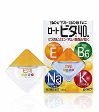 Rohto Vita 40a Alpha 12ml Vitamin Eye Drops from Japan