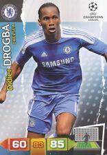 DIDIER DROGBA IVORY COAST CHELSEA.FC CARD ADRENALYN CHAMPIONS LEAGUE 2012 PANINI