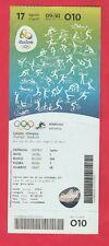 Orig.Ticket  Olympische Spiele RIO DE JANEIRO 2016 - Leichtathletik 17.08. ! TOP