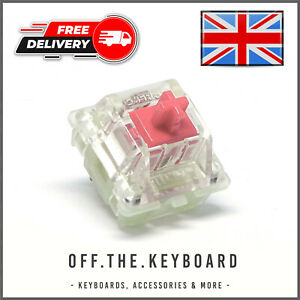 Cherry MX Silent Red RGB Linear Switch Gaming Tester Key Replacement Switch Lot