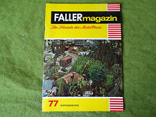 Faller ams   - Magazin Nr. 77
