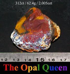 312.00CTS QUEENSLAND ROUGH BOULDER OPAL SPECIMEN!!! (BR28)