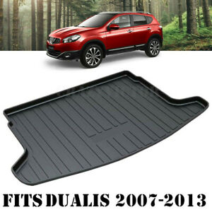 Waterproof Cargo Rubber Mat Boot Liner Luggage Tray for Nissan Dualis 2007-2013