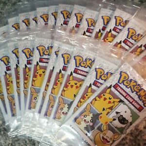 24 SEALED Packs Pokemon 25th Anniversary Trading Cards General Mills