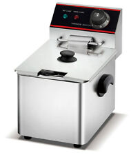 FonChef Deep Fryer Single Tank Electric Commercial Stainless Steel 2500w 5L