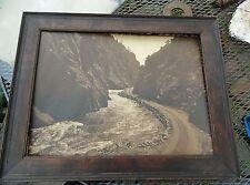 Antique Photograph Estes Park Colorado Big Thompson Canyon Fred Payne Clatworthy