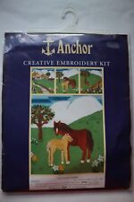 Anchor 'Orchard Farm' Horse Creative Embroidery Kit 27 Count NEW