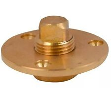 Brass Garboard Drain Bung 50MM,Fibreglass Boat Chandlery/ Boat / Dingy
