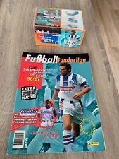 Panini Fußball Endphase 1996/1997 - 1x Display mit 100 Tüten OVP & 1x Leeralbum