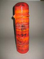 original XL 60s FAT LAVA Vase Pottery  grosse 60er Jahre Keramik Vase Roth Era