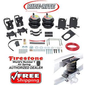 Firestone 2550 Ride Rite Rear Air Bags for Ford F250 F350 Super Duty 2WD 4WD