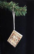 Little Women Louisa May Alcott Miniature Book Christmas Ornament