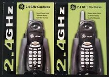 2 Ge 2.4 Ghz 27923Ge2 Black Cordless Phones Brand New Still In The Original Box!